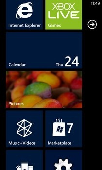 Themes Install WP7 Home