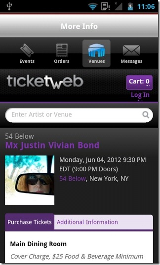 Ticketmaster-Android-Venues