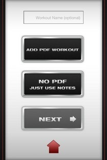 Ultimate Fitness App Instructions