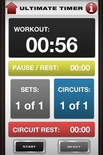 Ultimate Fitness App Workout Timer