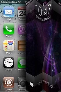 Unfold iOS Home
