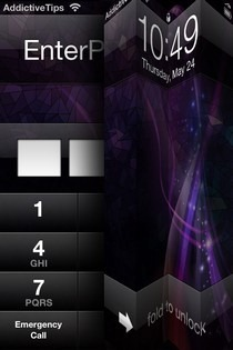 Unfold iOS Passcode