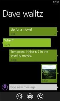 Viber WP7 Messages