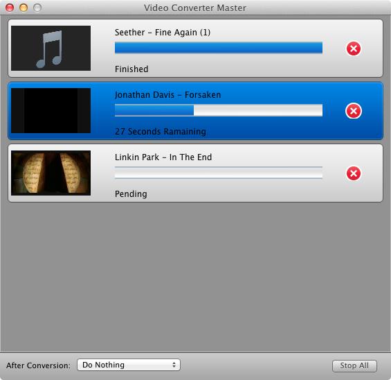 Video Converter Master conversion