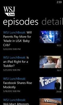 WSJ Live Episodes