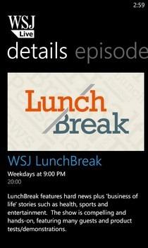 WSJ Live Epsiode Details