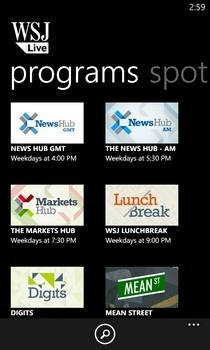 WSJ Live Programs