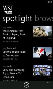 WSJ Live Spotlight