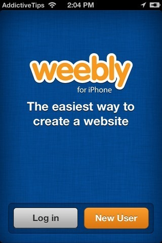 Weebly iPhone