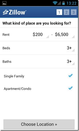 Zillow-Rentals-Android-Filters