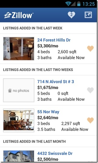 Zillow-Rentals-Android-Results