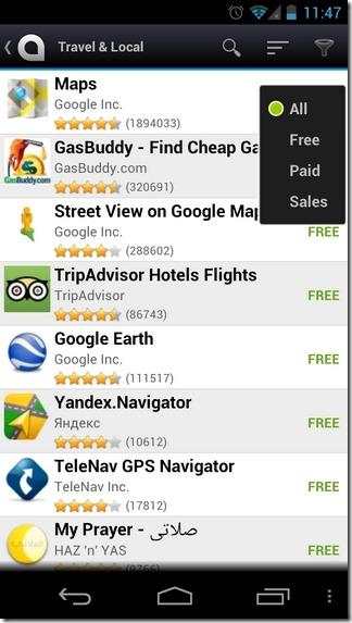 AndroidZoom-Andorid-Filter