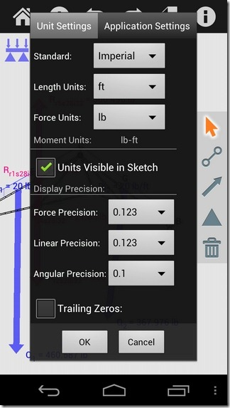 Autodesk-ForceEffect-Android-Settings
