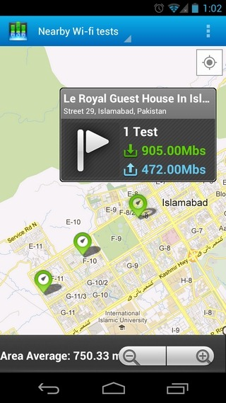 Cisco-DataMeter-Android-Map