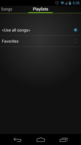 DjRun-Android-Playlist