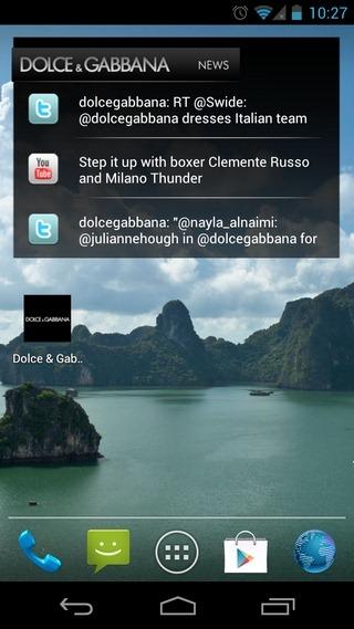 Dolce-&-Gabbana-Android-Widget