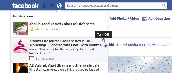 Facebook Notifications_Turn Off