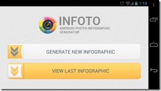 InFoto-Android-Home