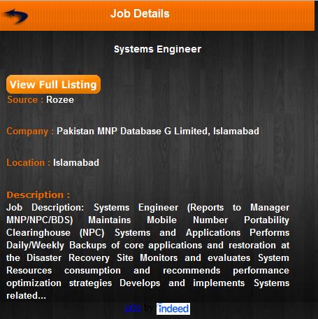 Job details- Jobs Aggregator
