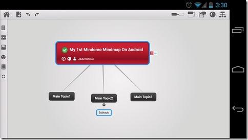 Mindomo-Android-Landsacpe
