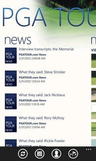 PGA Tour News
