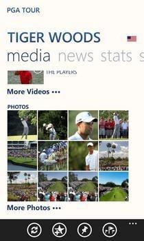 PGA Tour Player Page
