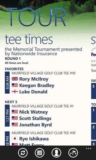 PGA Tour Tee Time