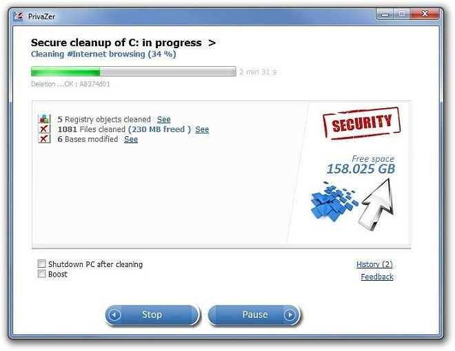 PrivaZer_cleaning