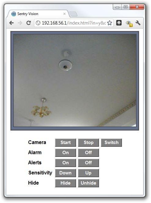 Sentry Vision - Web Access