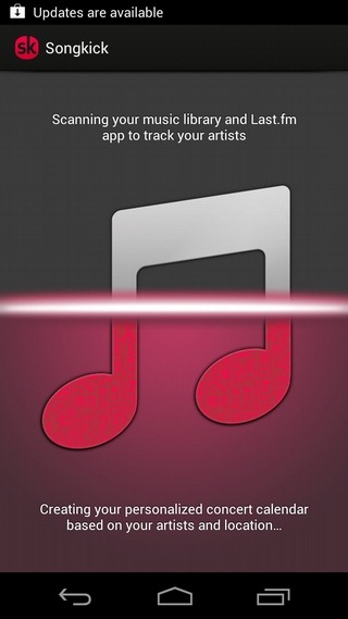 Songkick-Concerts-Android-Scanner