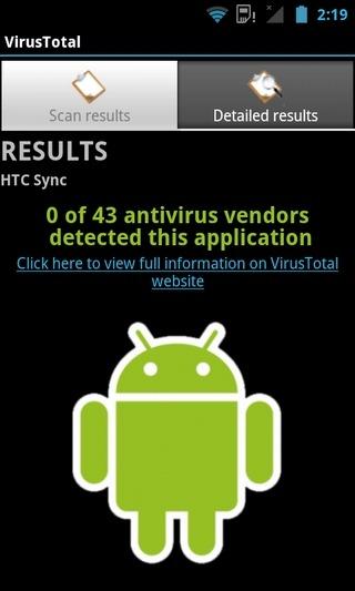 VirusTotal-Android-Clean