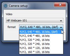 Webcam Timelapse camera setup