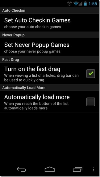 aCheckin-Android-Settings