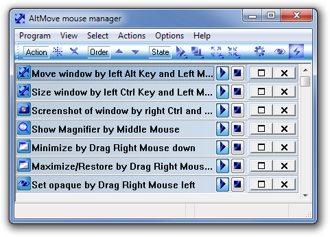 AltMove mouse manager main