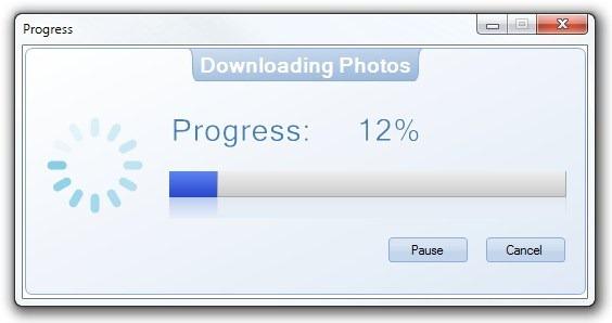 Free Instagram Downloader_Progress