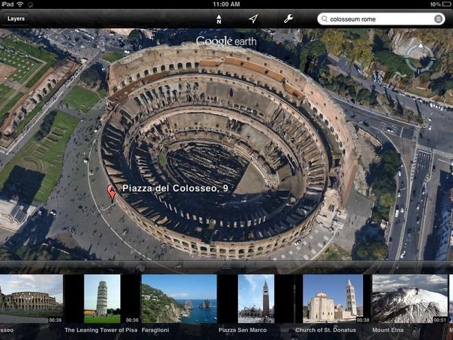 Google Earth iOS 3D Maps