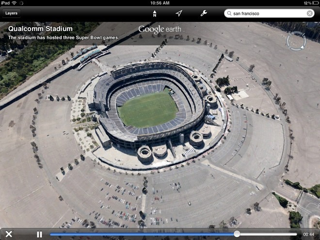 Google Earth iOS Tour Guide