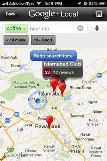 Google  Local Map Search