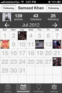 InstaCC Calendar