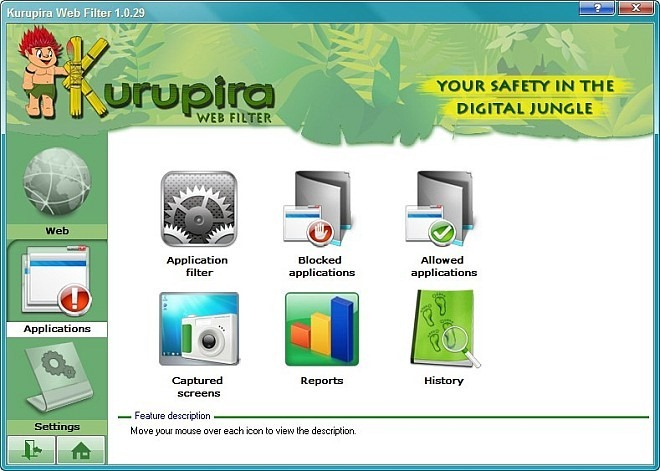 Kurupira Web Filter_Apps
