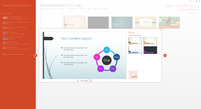 Microsoft PowerPoint Preview 2