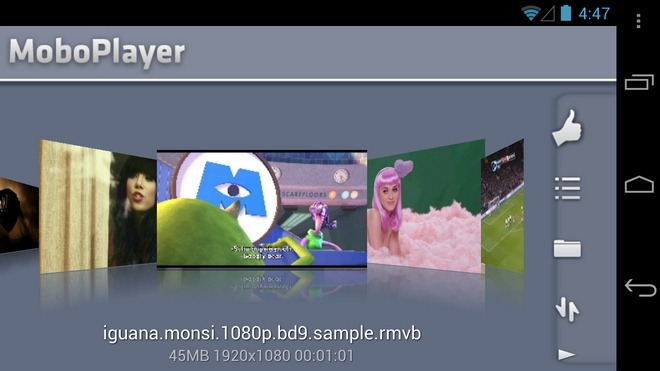 MoboPlayer-Android-3d-Gallery