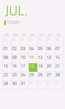 Moments WP7 Calendar