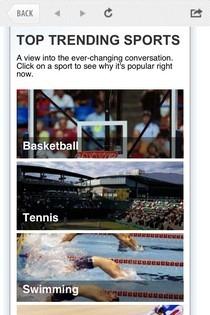 NBC Olympics Trending Sports