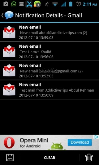 Notification-History-Android-Notifications