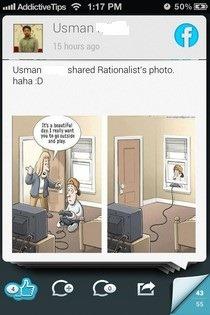 Relevance iOS Facebook