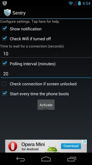 Sentry-Android-Home
