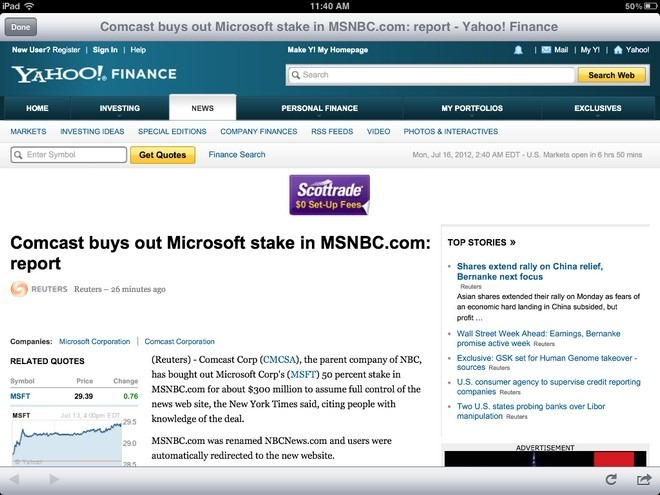 Stock Market HD News