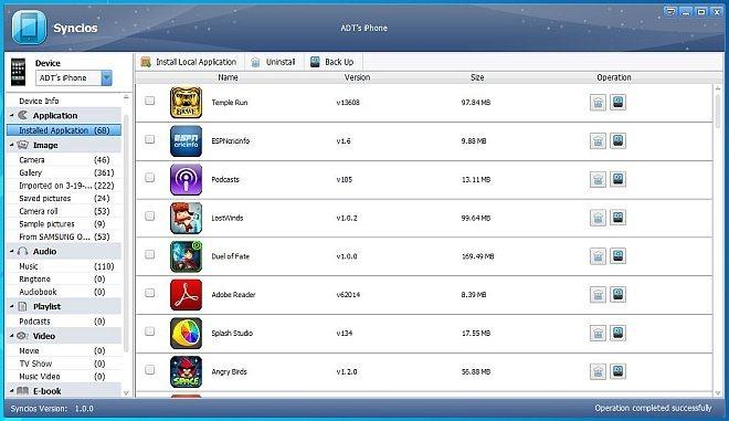 Syncios_apps