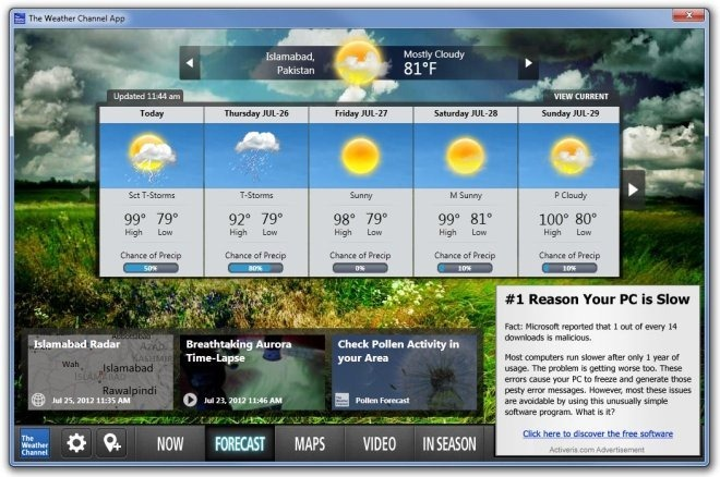 The Weather Channel App Forecast